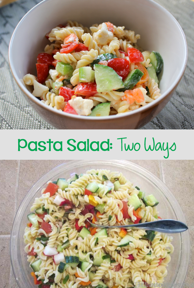 Gluten Free Colourful Pasta Salad