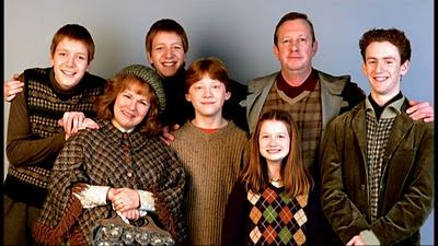 CRAZY MESSY LOUD: Lessons from the Weasleys
