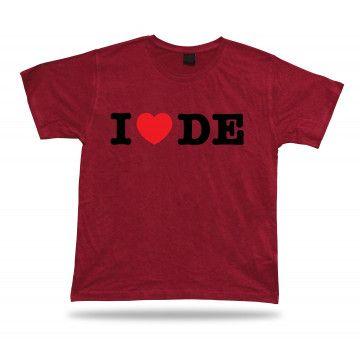 I Love Heart Delaware T-Shirt