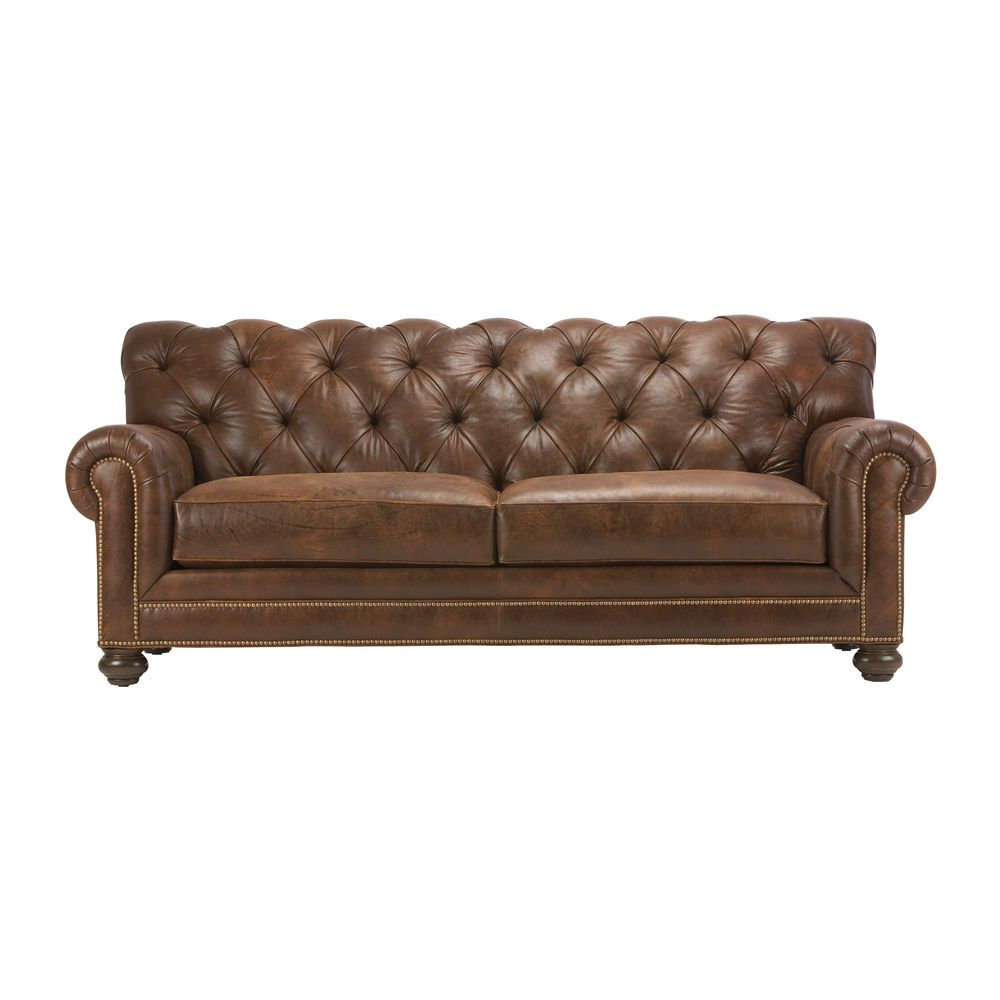 Chadwick Leather Sofas Ethan Allen Us Best Leather Sofa