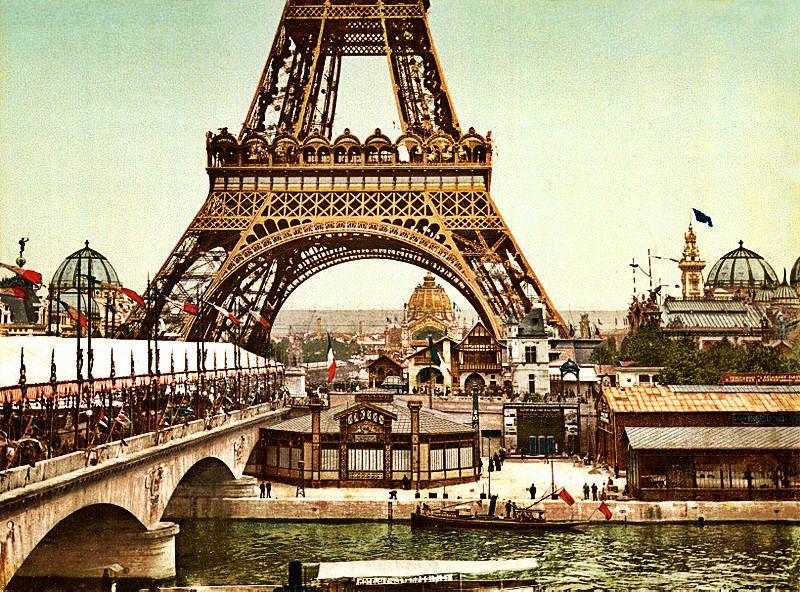 #Exposition 1900, #Eiffeltower, #Paris    © Wikipedia, DE