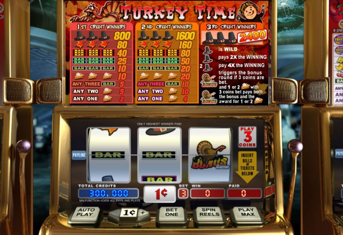100 free spins on Turkey Time slot Lincoln Casino