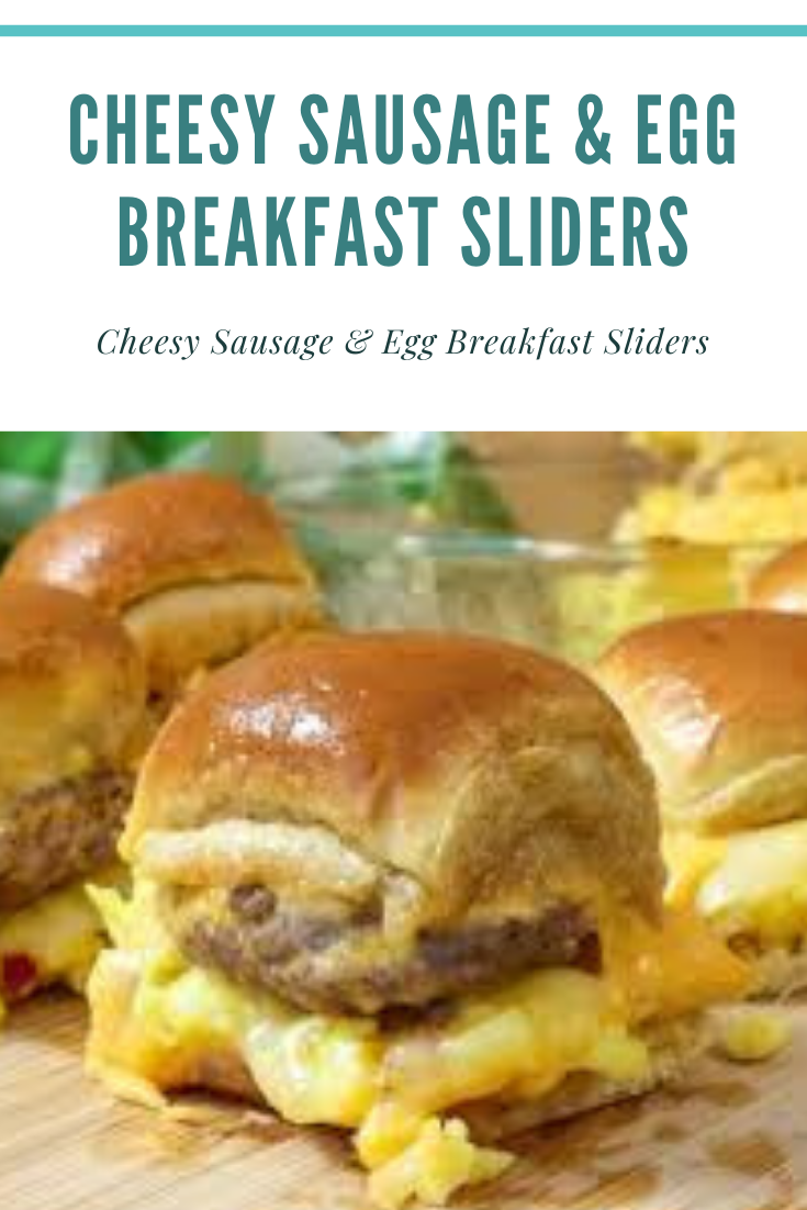 Cheesy Sausage & Egg Breakfast Sliders #breakfastslidershawaiianrolls Cheesy Sausage & Egg Breakfast SlidersThese Cheesy Sausage and Egg Breakfast Sliders begin with a bundle of sweet Hawaiian supper rolls and are stacked up with your most loved breakfast fixin's. Fried eggs, Jones Dairy Farm all characteristic pork hotdog moves, 2 sorts of ooey gooey cheddar are stacked over a sweet Hawaiian supper roll and finished with a stunning sweet maple margarine coat and heated in the broiler.INGREDIENT #breakfastslidershawaiianrolls