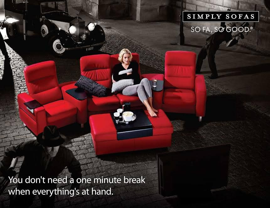 Stressless Home Theatre Seating Offers Ultimate Home Cinema