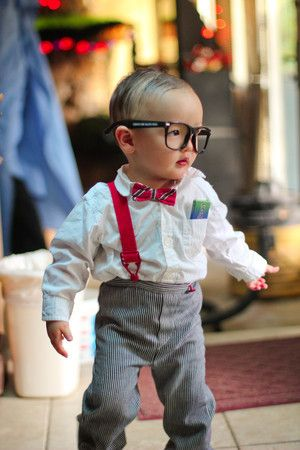 Nerdy Baby Costume | Hubbardu0027s Cupboard  sc 1 st  Pinterest & Nerdy Baby Costume | DIY Halloween kids costumes | Pinterest | Baby ...