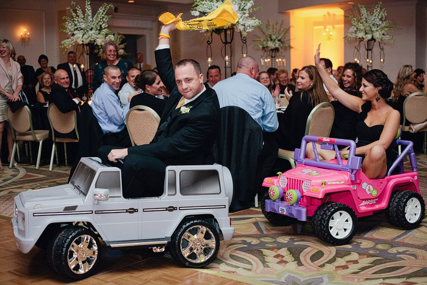 So Funny. Wedding Party Entering In Hot Wheels Cars