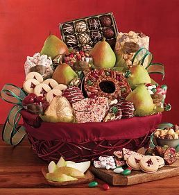 Harry and David Christmas Gift Basket | Products | Pinterest | Products