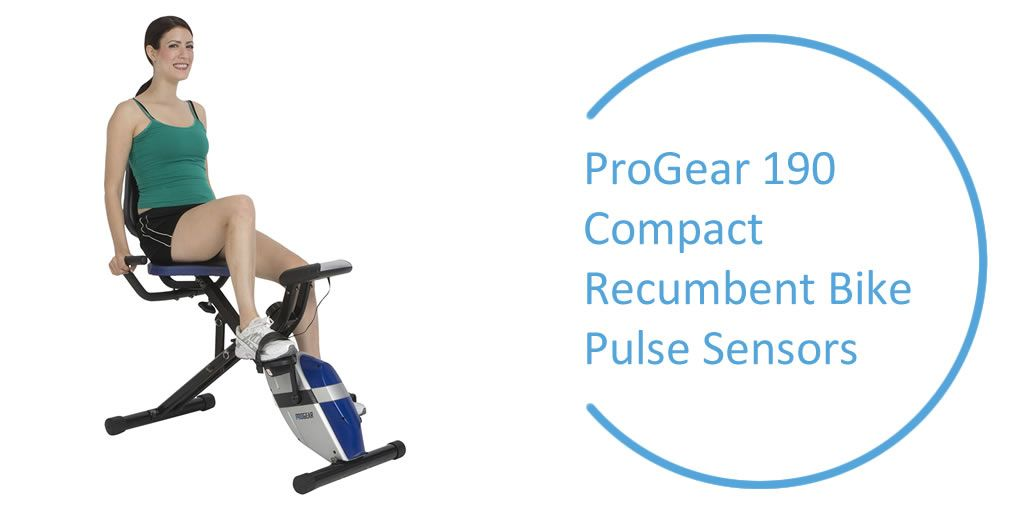 Progear 190 Compact Recumbent Bike Compact Design Affordable Foldable One Of The Best Recumbent Exercise Biking Workout Recumbent Bike Workout Bike