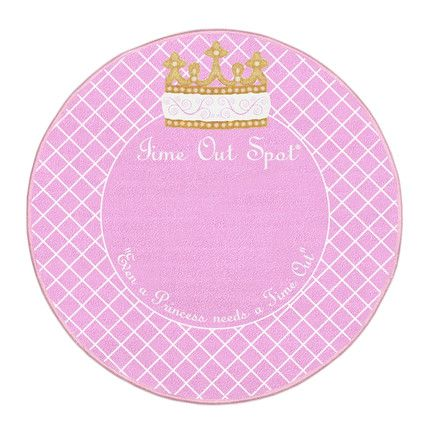 Princess Time Out Spot Raising Kids May Be Hard But Picking A No Longer Has To The Rug Is Great Tool Help Discipline