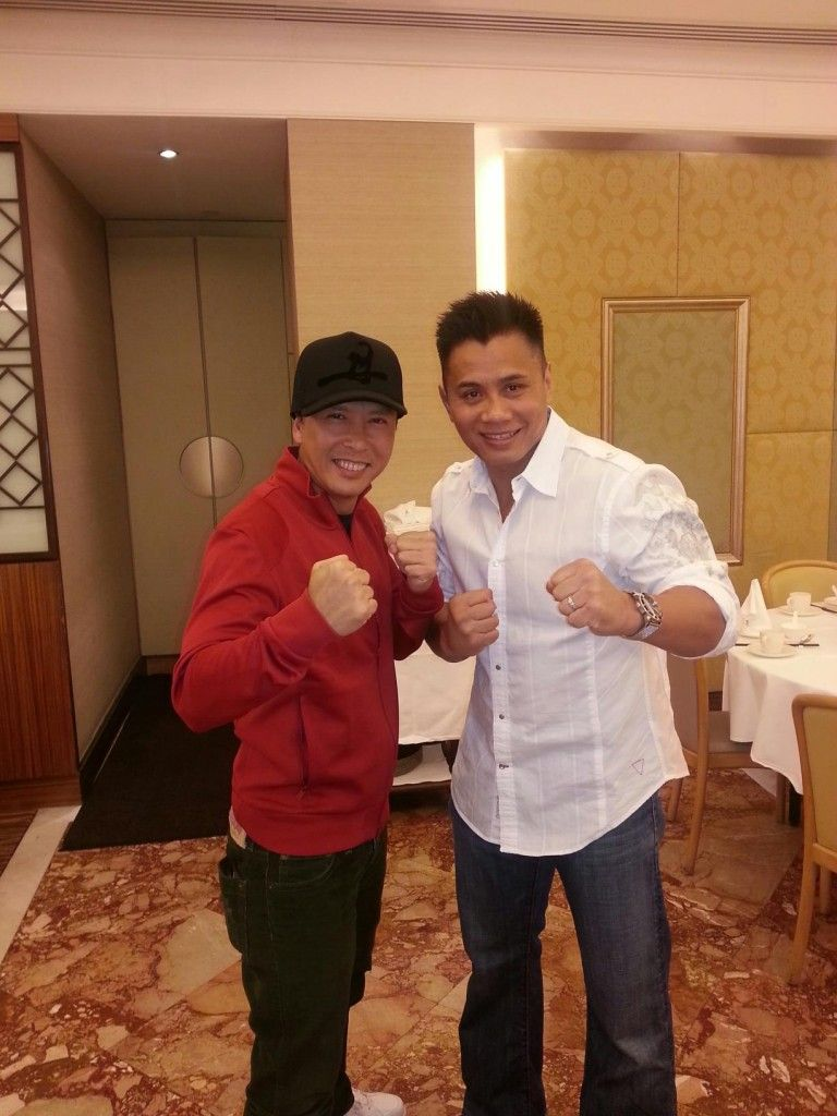Donnie Yen and Cung Le