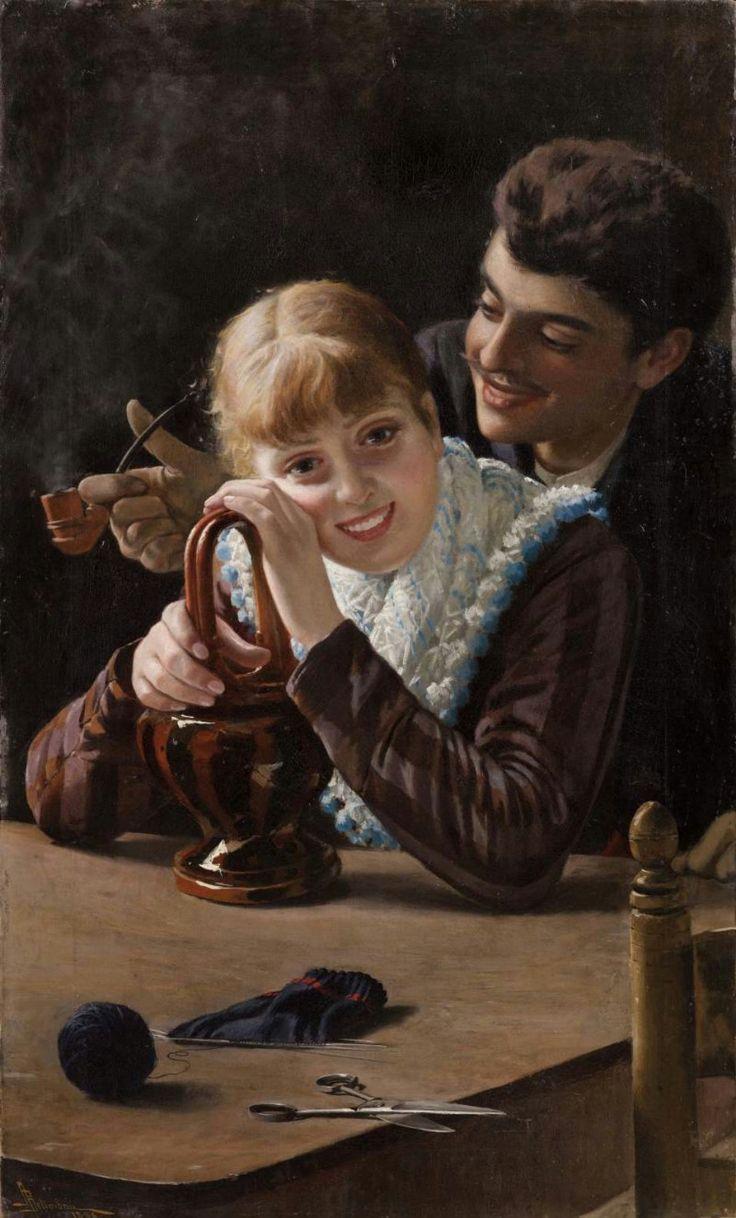 Adolfo Belimbau (1845 – 1938) – Pintor Italiano_11