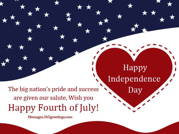 4th Of July Greetings Sayings Photo Cards Independence