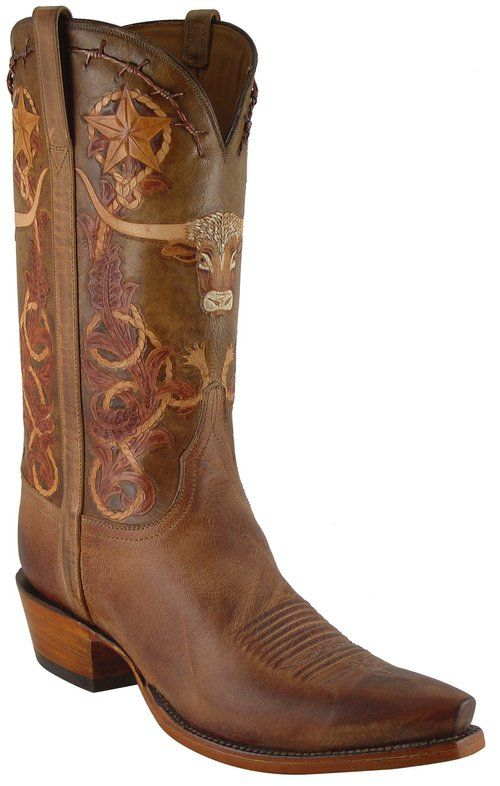 Lucchese Classic L1604 Mad Dog Goat Mens Cowboy Boots Custom Cowboy Boots Leather Western Boots