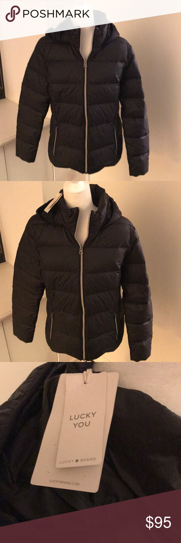 Nwt Lucky Brand Packable Down Puffer Jacket Lucky Brand Jackets Puffer Jackets [ 1740 x 580 Pixel ]