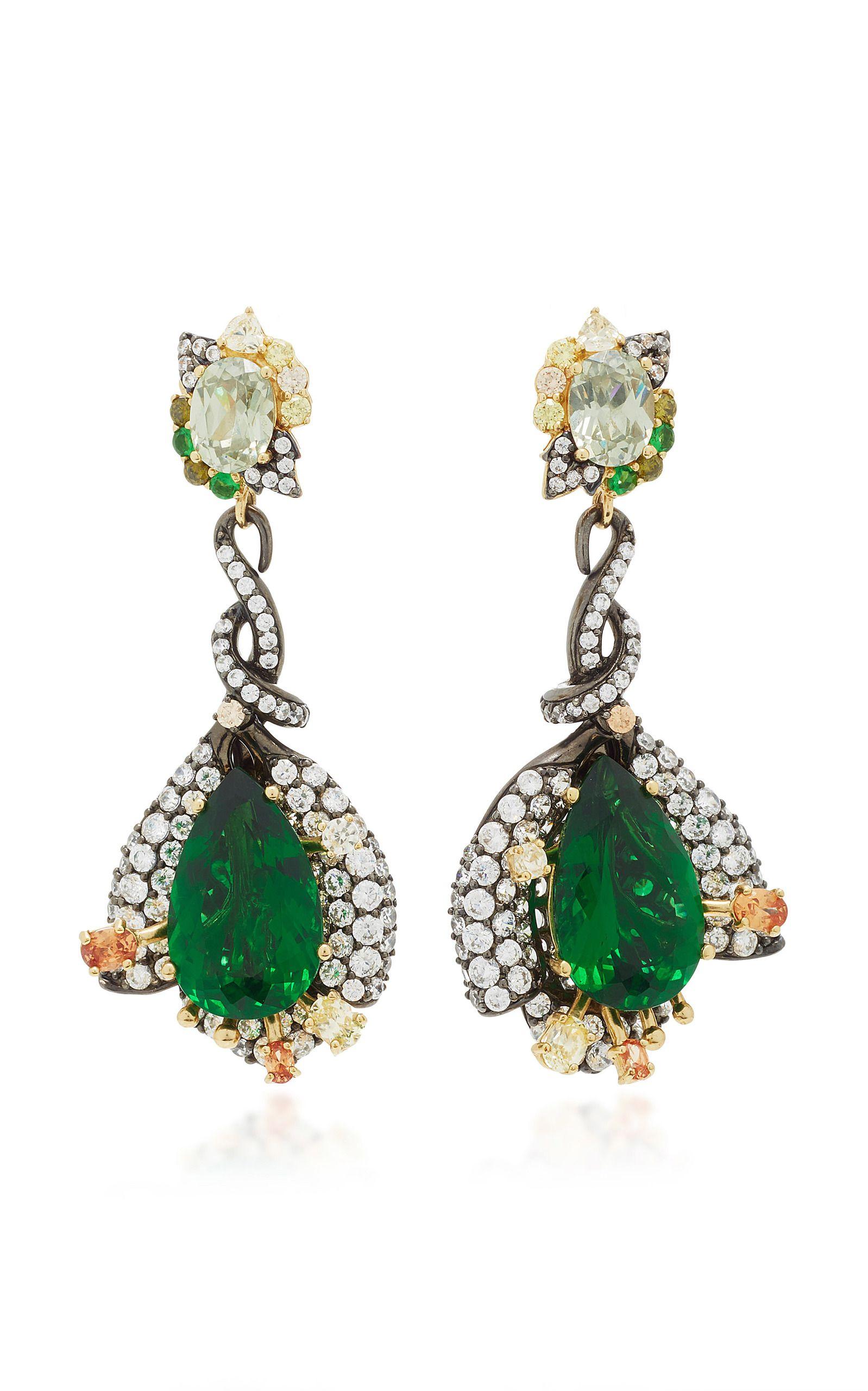 MO Exclusive: Fuchsia Sapphire Earrings Anabela Chan YUUcQJ