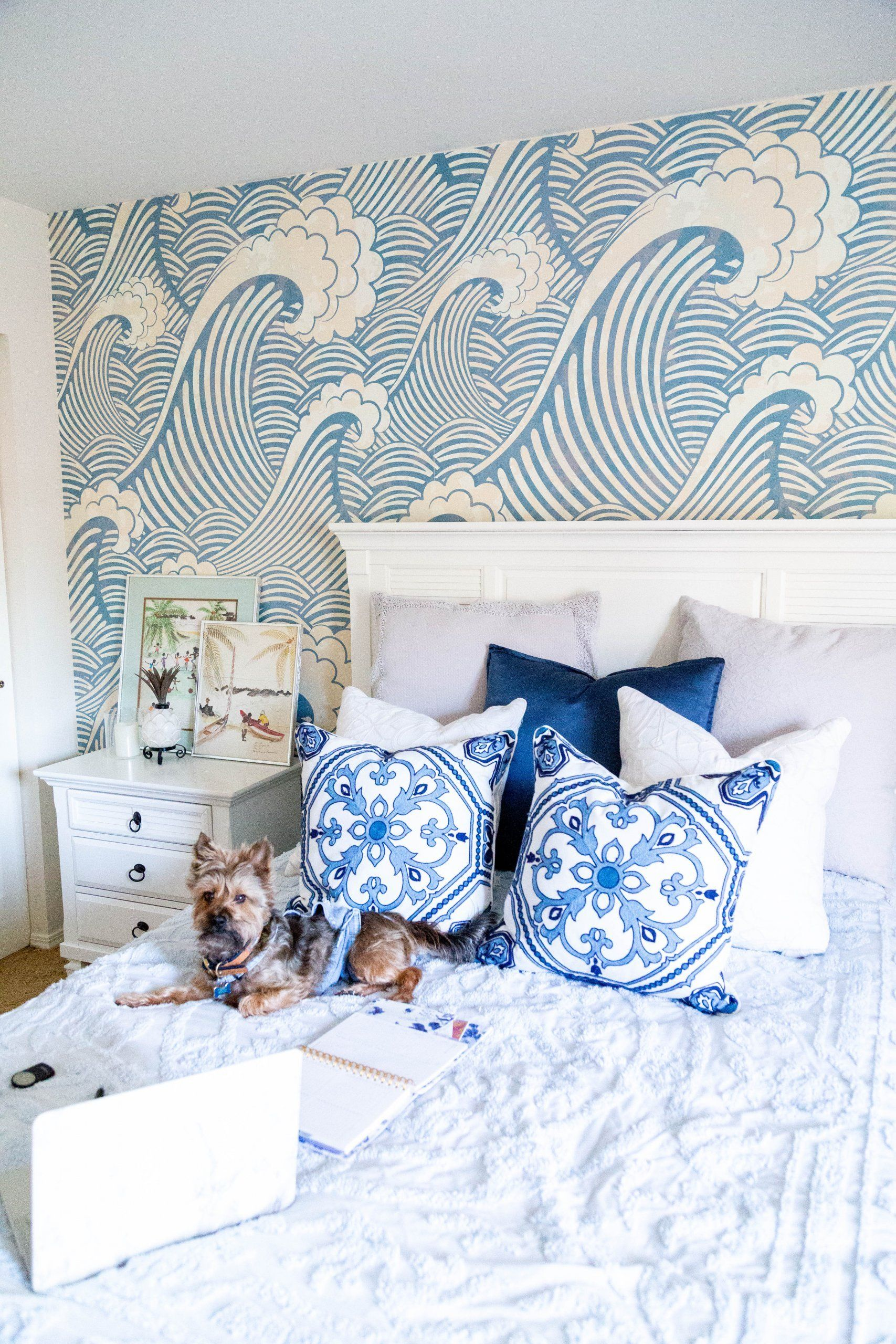 Wallpaper Accent Wall Bedroom in 2020 | Accent wall ...