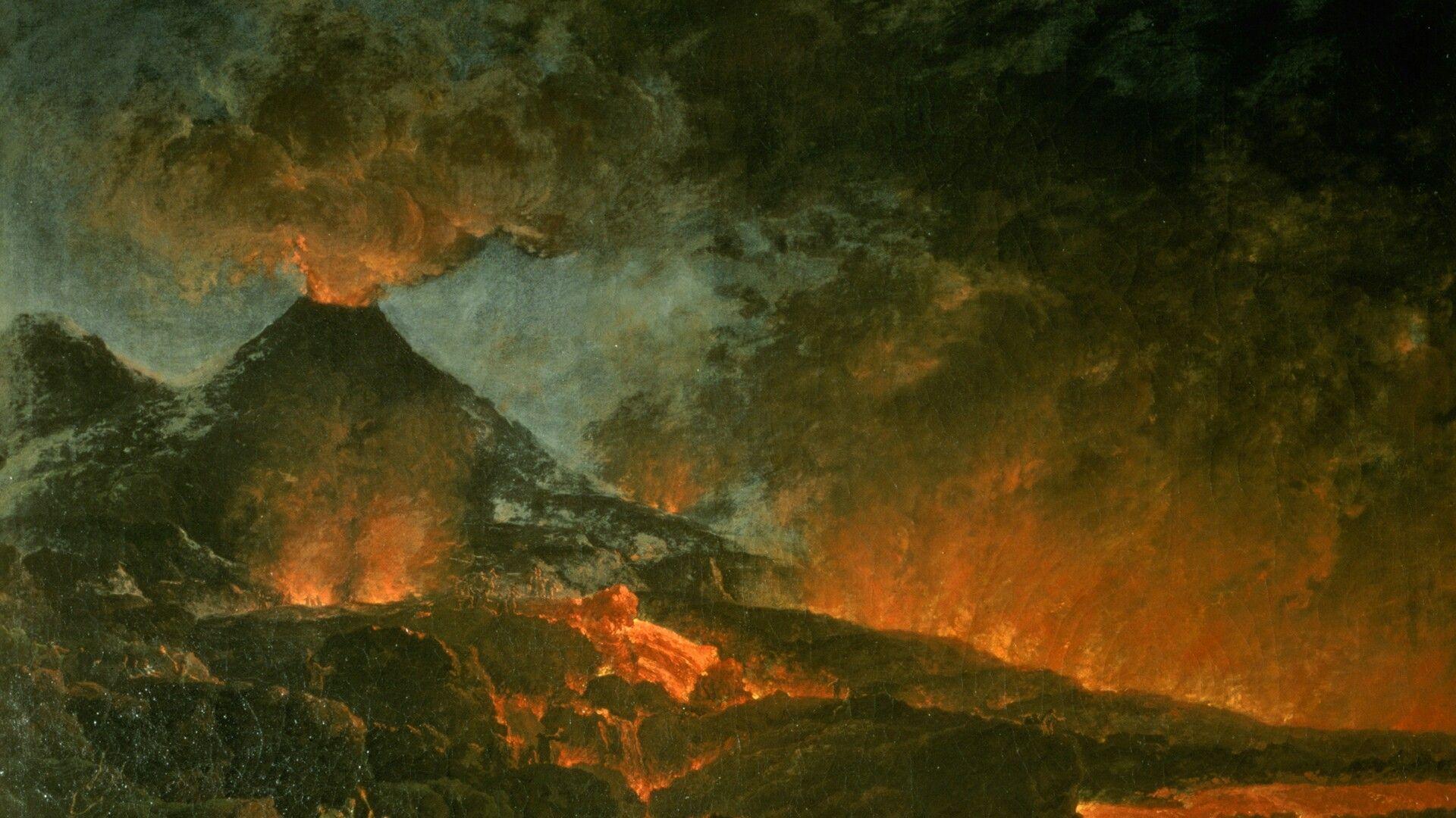 """Résultat de recherche d'images pour """"éruption vésuve 79"""""""
