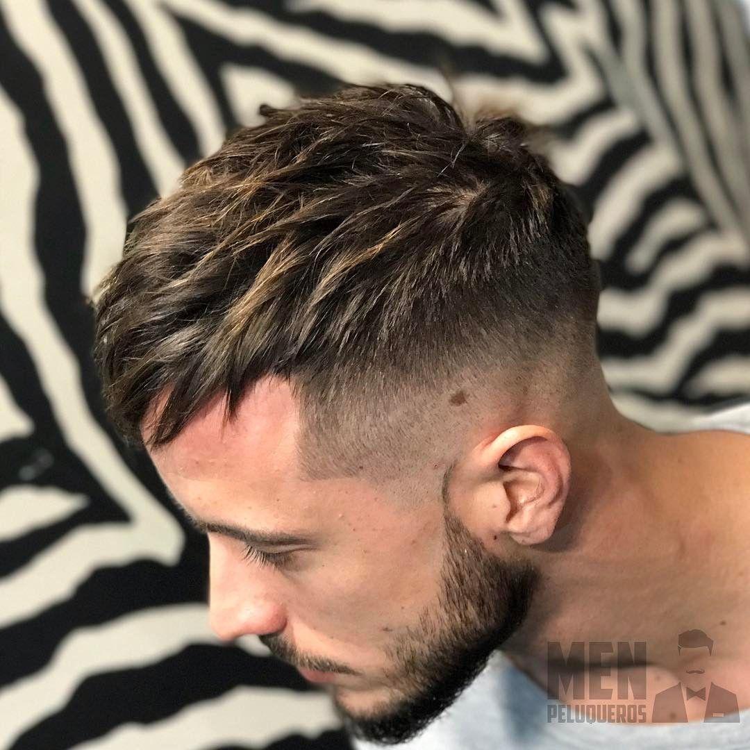 Barbershop Hair Style Men Menpeluqueros Fotos Y Videos De Instagram Mens Hairstyles Hair Styles Hairstyles Haircuts