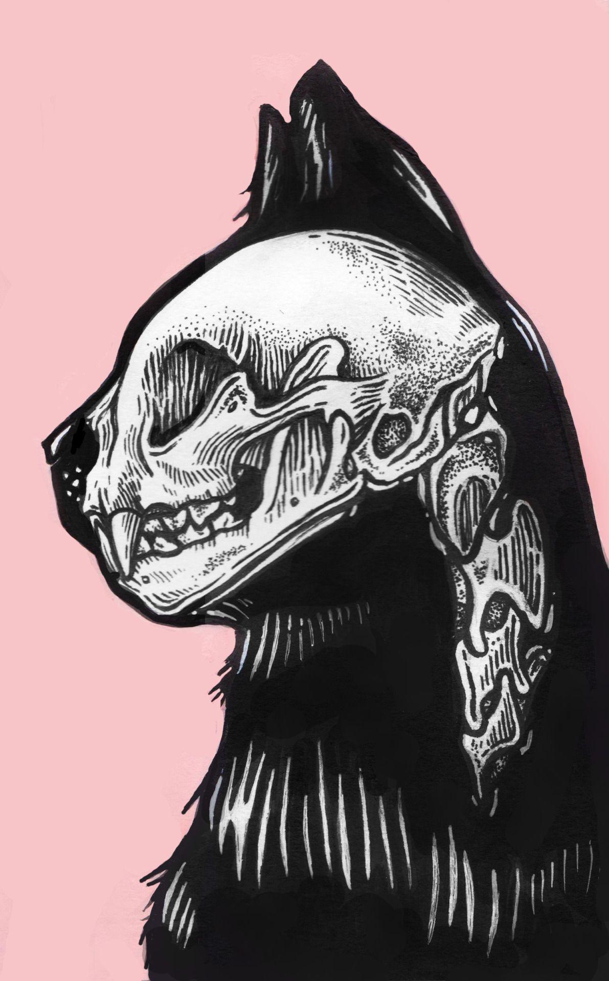 EatSleepDraw | Art | Pinterest | Fondos, Gato y Dibujo