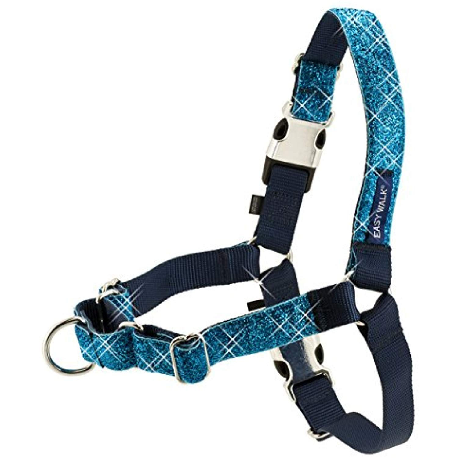 PetSafe Bling Easy Walk Harness, Small, Blue Continue