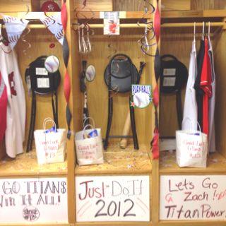 Decorated Baseball Locker IdeasYearbook IdeasLocker Room