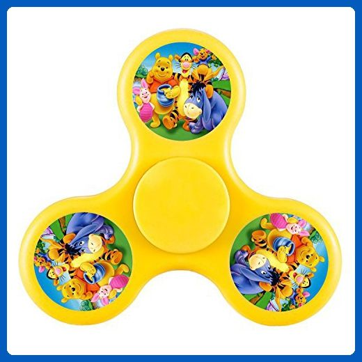 Finger Fun Anti-Anxiety Winnie the Pooh Hand Spinner Fidget Spinner Relieve Anxiety And Boredom For Killing Time Kids & Adults Yellow - Fidget spinner (*Amazon Partner-Link)