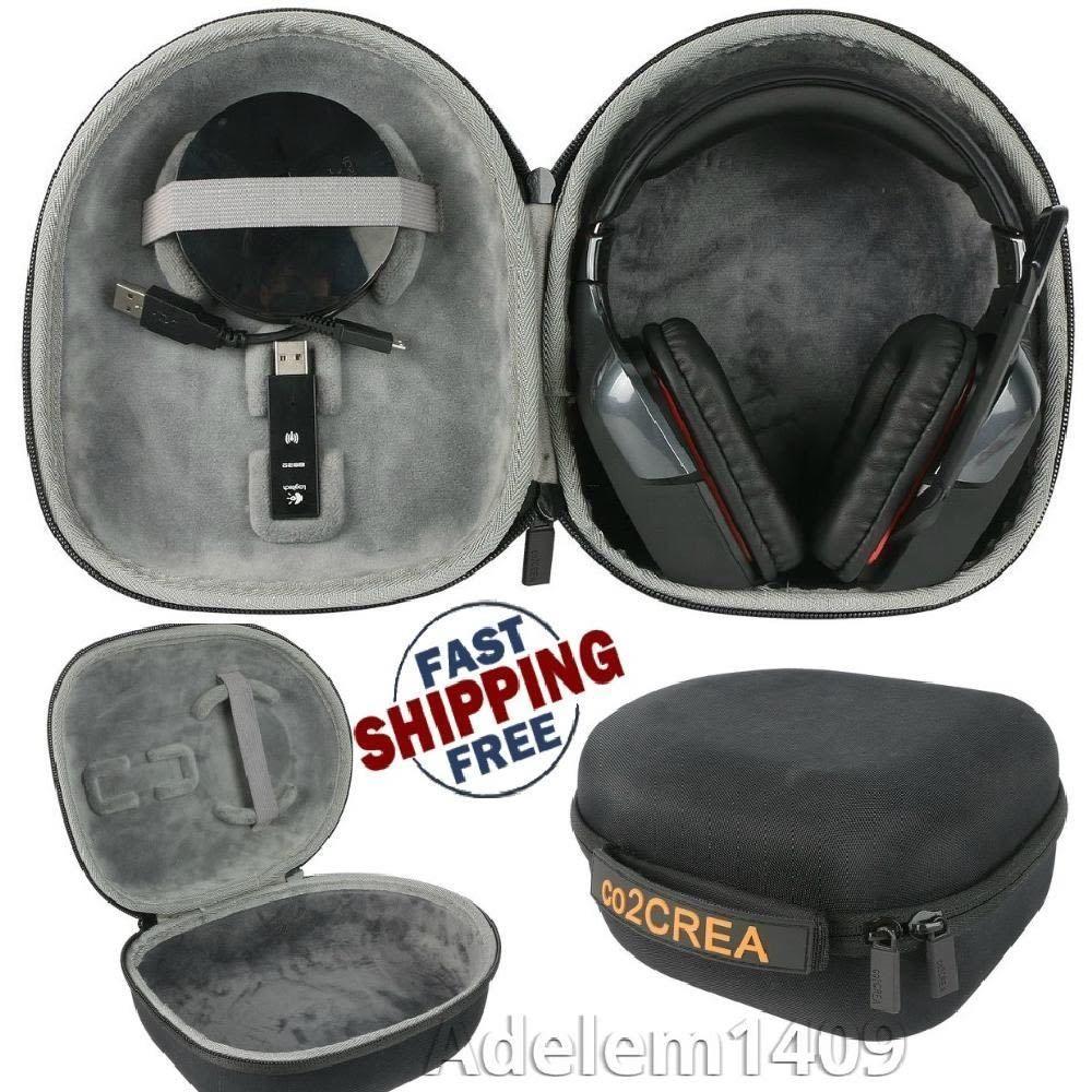 Hard Travel Case for Logitech G933 G930 G430 G230 G35 Gaming