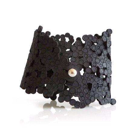 Constellation Bracelet // Wide  (Black)