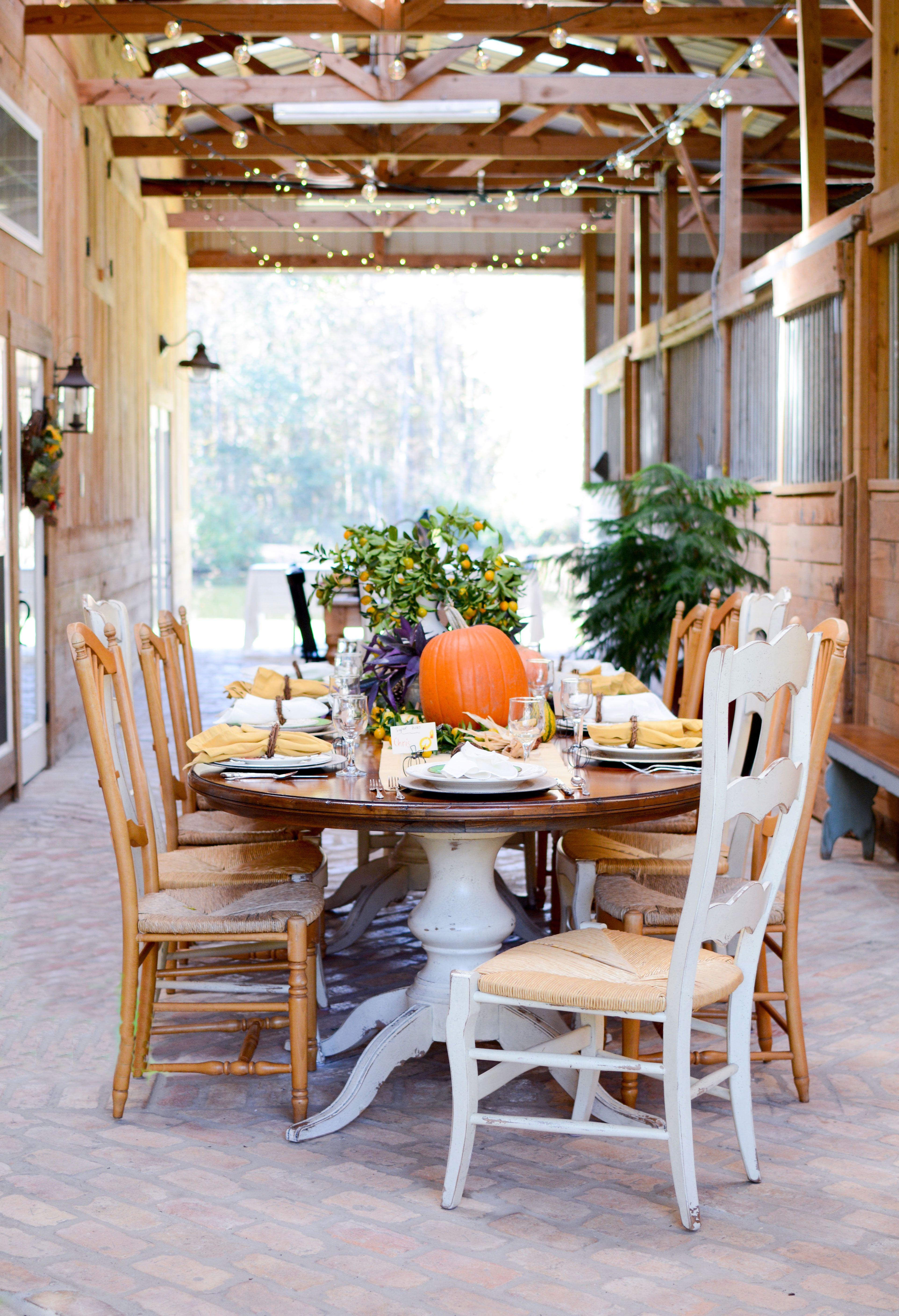 Janelle patton of lark interiors hosted thanksgiving