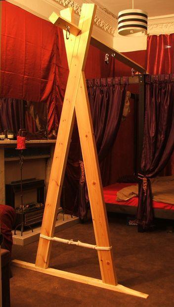 Wooden Bondage Suspension Frame