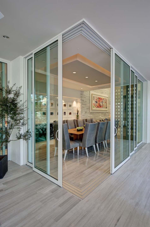 Porte int rieure vitr e et sa place dans le design int rieur d une maison moderne id es d co - Porte separation vitree ...