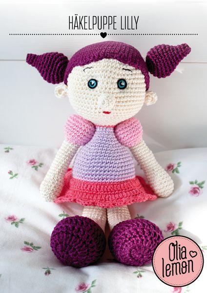 Amigurumi Häkel Puppe Lilly Von Olialemon Auf Dawandacom Puppen