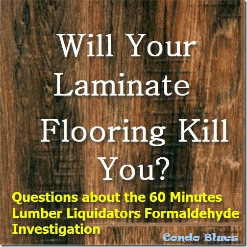 Home Decor Liquidation: Can Your Laminate Flooring Kill You?