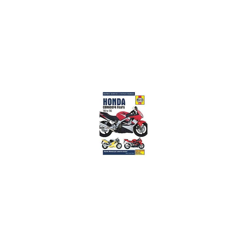 Haynes honda cbr600f4 fours 99 to 06 repair manual paperback haynes honda cbr600f4 fours 99 to 06 r haynes service and repair manual fandeluxe Choice Image