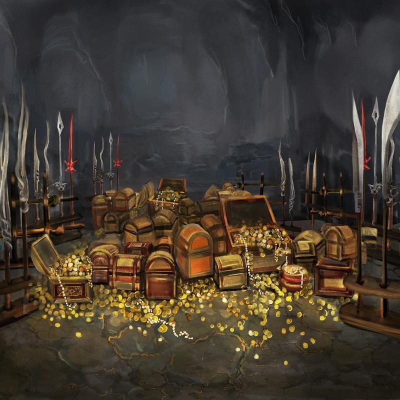 Treasure Room Gold Google Search Game Inspiration Fantasy