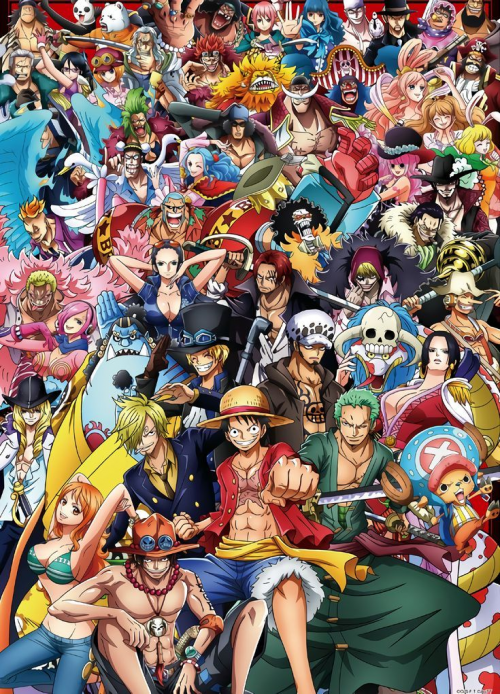 Create a All Characters One piece Tier List