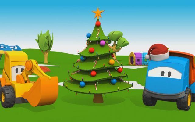 Prima pagina video online cartoni animati alberi di natale e camion