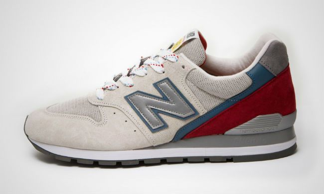 competitive price c1554 7e324 New Balance M996PD Beige / Red | Style | New balance, Red ...