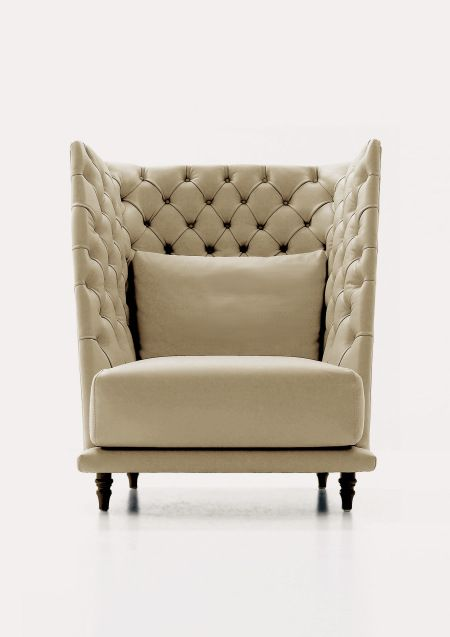 high back lovers chair | Intimate high back chairs