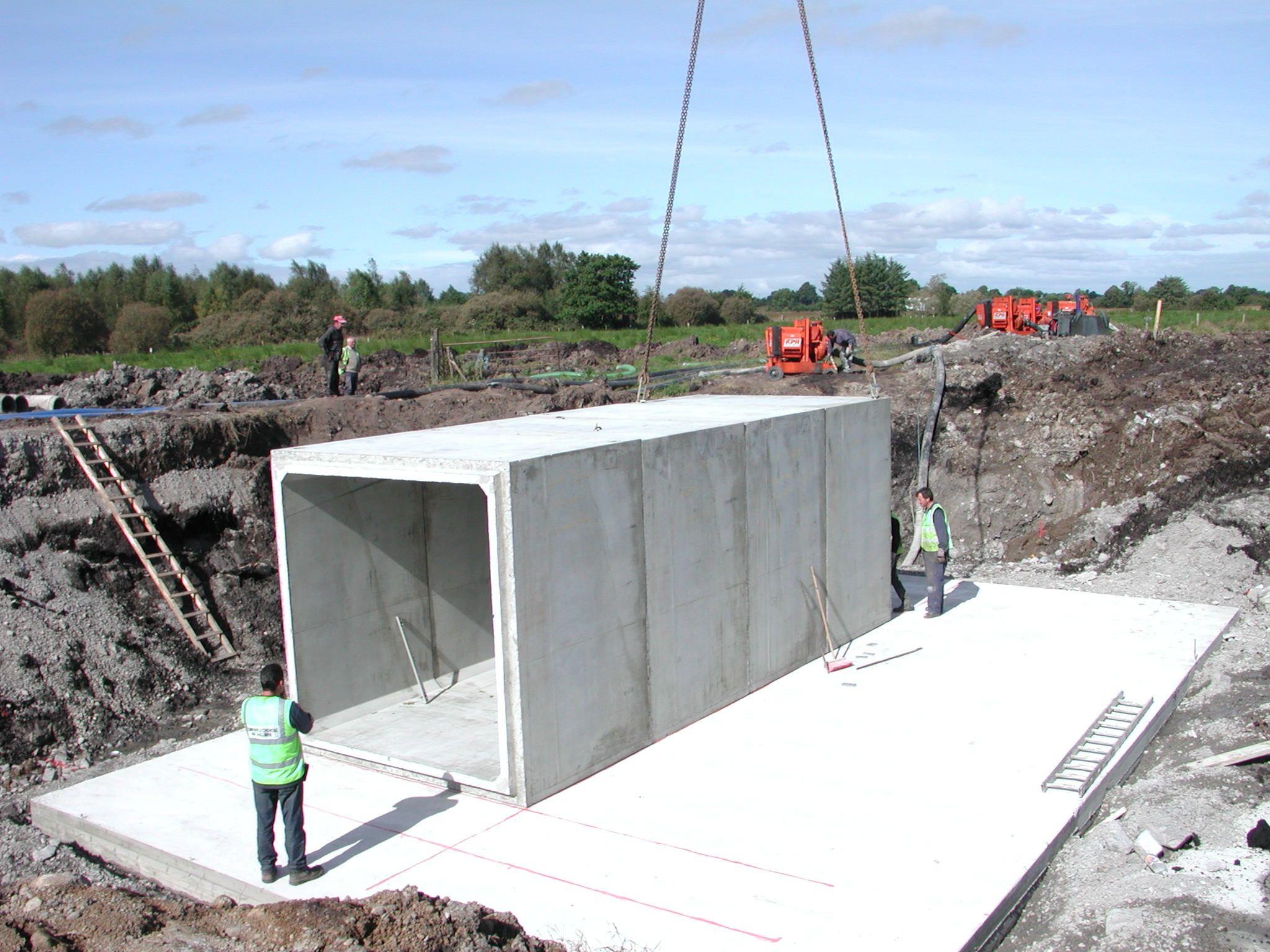 Best Kitchen Gallery: Build The Wall Using Concrete Culver Like Bricks Box Culvert of Culvert Underground Homes on rachelxblog.com