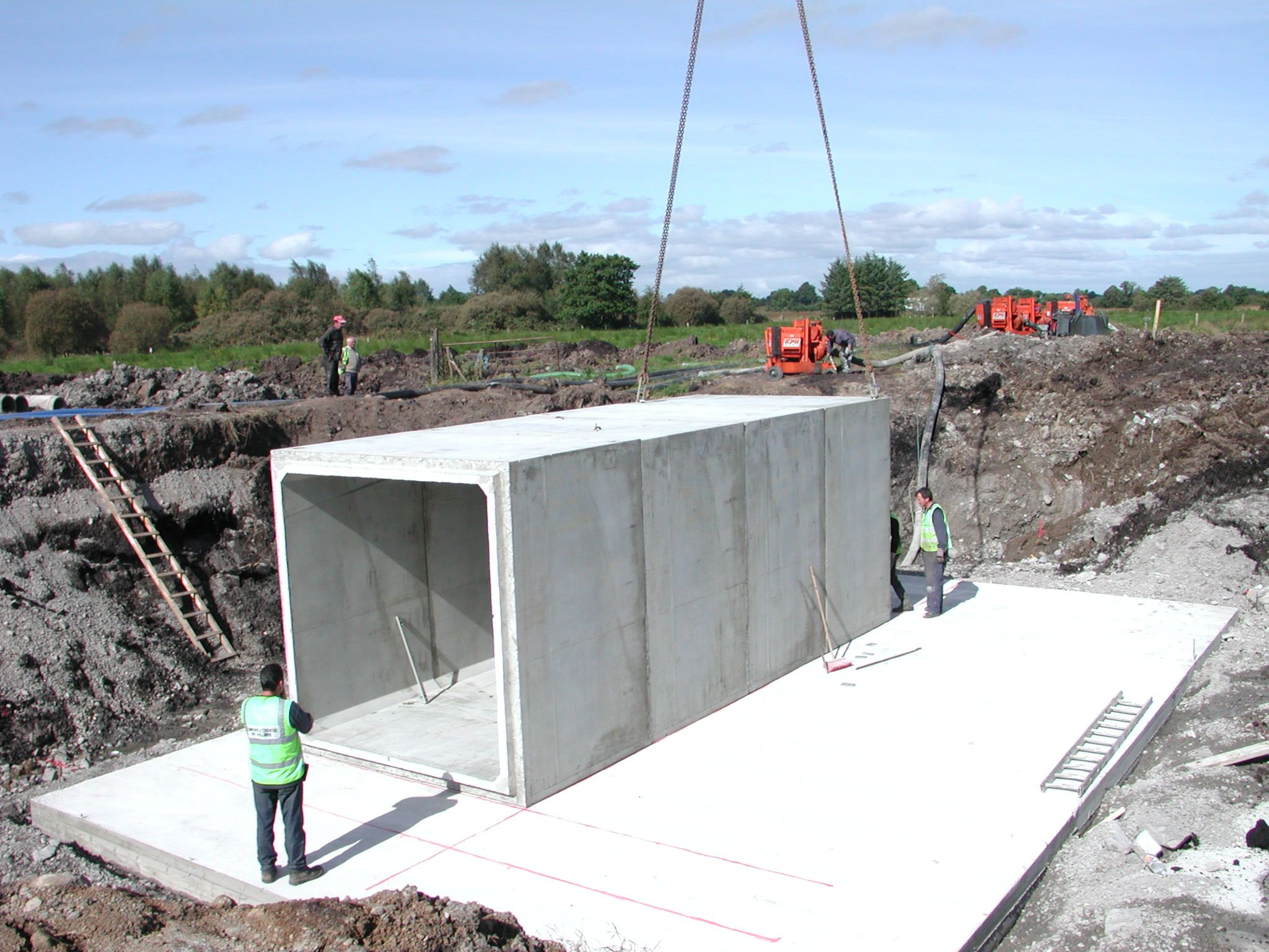 Precast Box Culverts Precast Concrete Box Culverts Bancrete UK - Prefabricated concrete homes designs