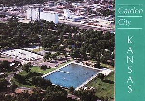 Garden City Kansas World S Largest Outdoor Pool We Watched Them