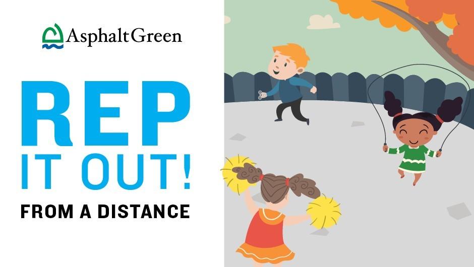 Kids' Games for Social Distancing Asphalt Green in 2020