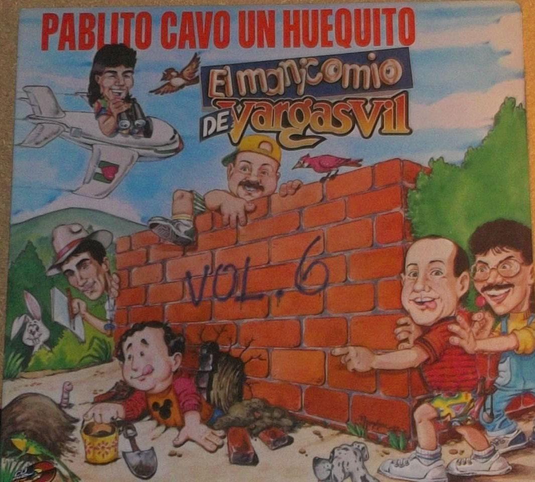Vargasvil Pablito Cavo Un Huequito Vinyl Comedy Record Album by RASVINYL on Etsy