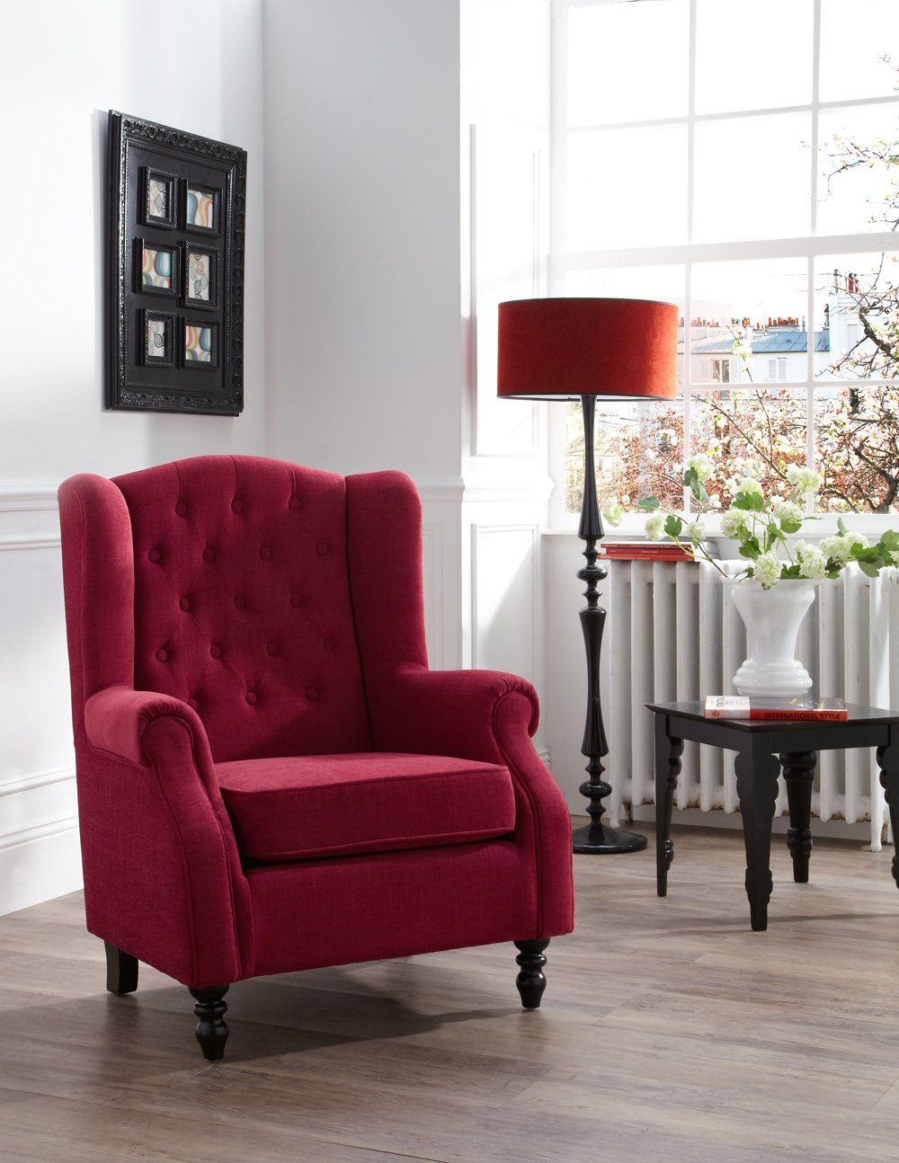 Milan Mink Fabric Chair Leather dining room chairs
