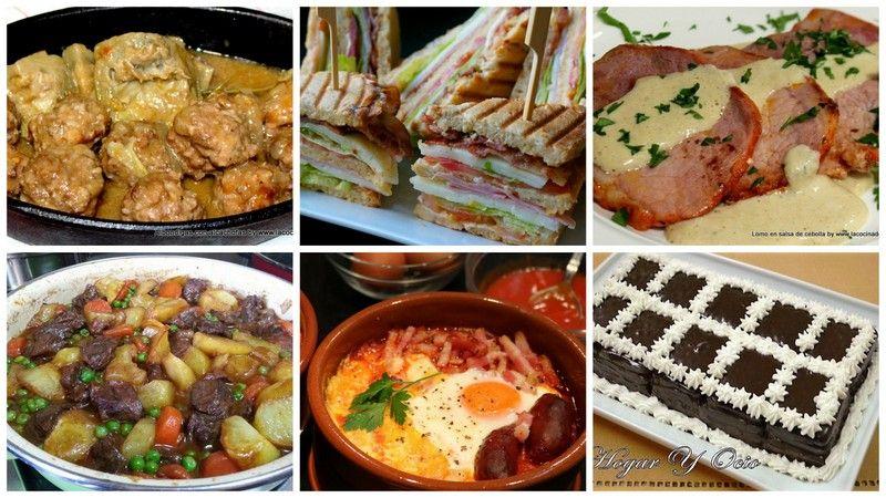 Menu Semanal 35 La Cocina De Masito Recetas Faciles Con Carne Comidas Economicas Recetas De Cocina