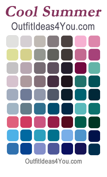are you a cool summer your seasonal color analysis パーソナルア