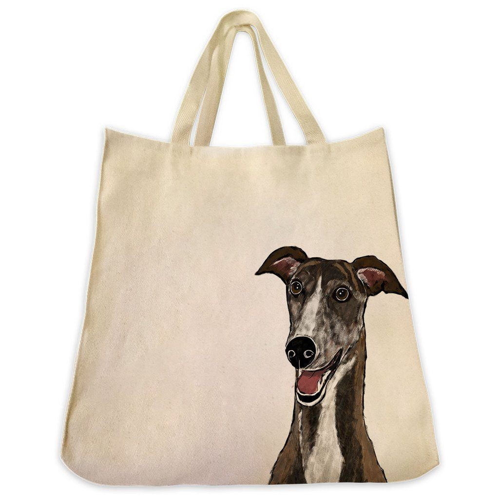 Description The Graphic Greyhound color 10 oz cotton twill tote