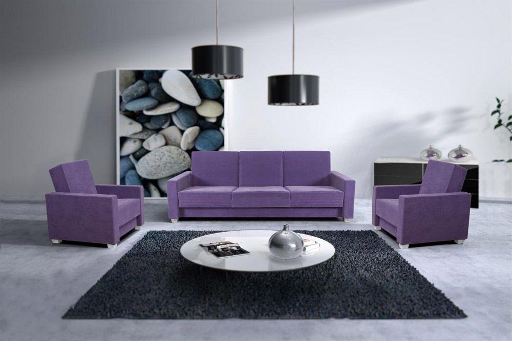 COUCHGARNITUR FENDI - besteht aus Couch und zwei Sesseln