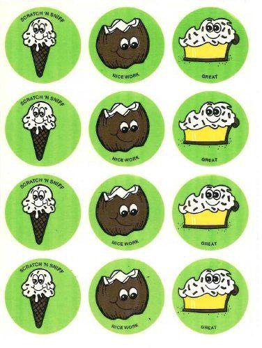 Vintage Trend MATTE Scratch /& Sniff Sticker - Mint!! Ghost Coconut